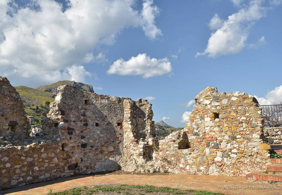 Norman Castle in Forza D'Agro