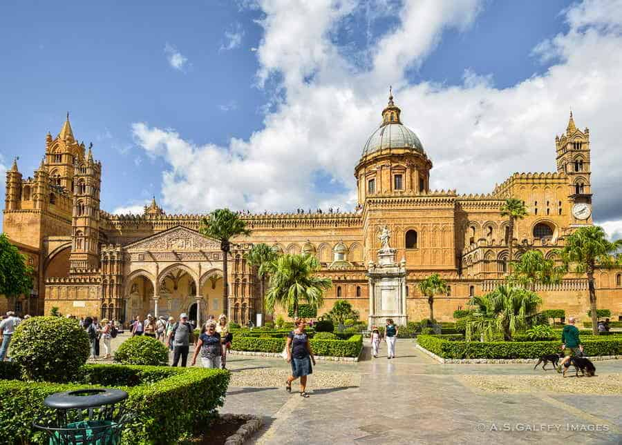Palermo Cathedral - top cities in Sicily