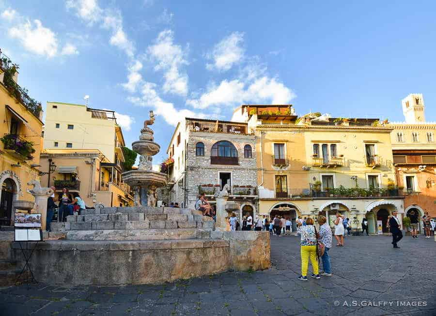 Taormina - top towns in Sicily