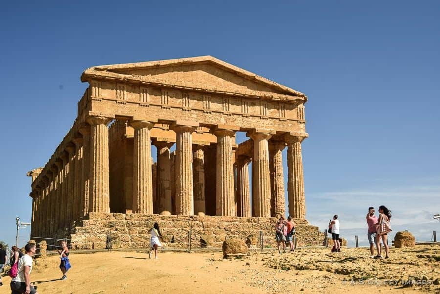 The Temple of Concordia, Sicily