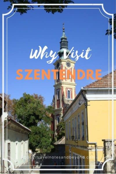 Budapest day trip to Szentendre