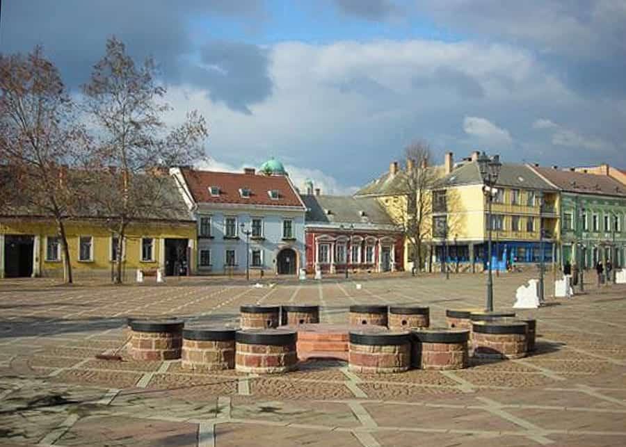 Small square in Esztergom