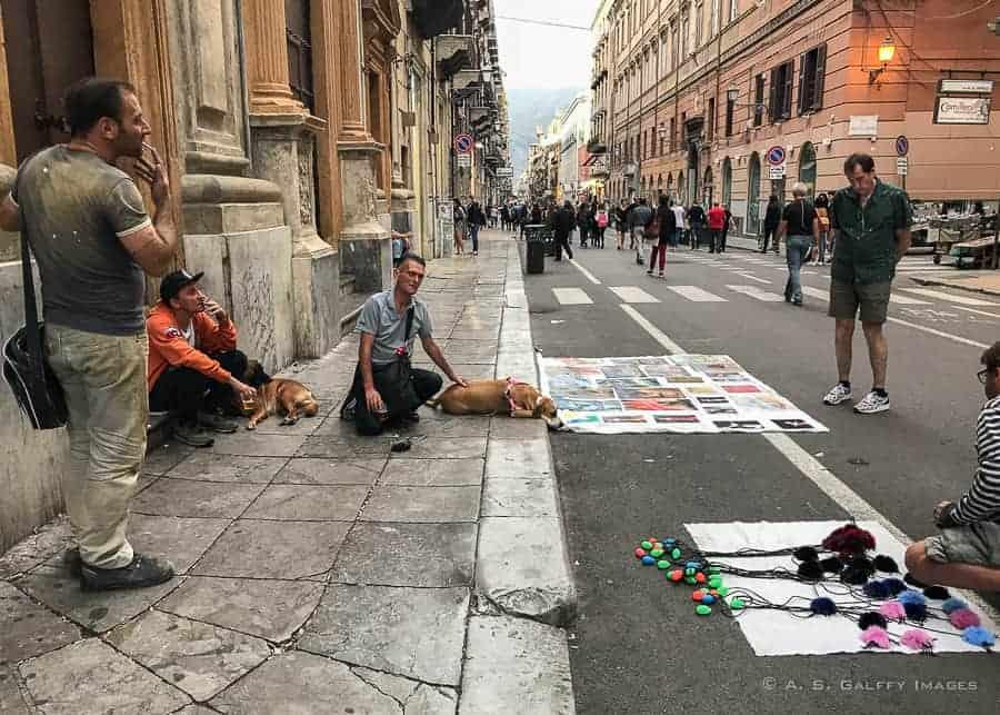 Palermo street vendors
