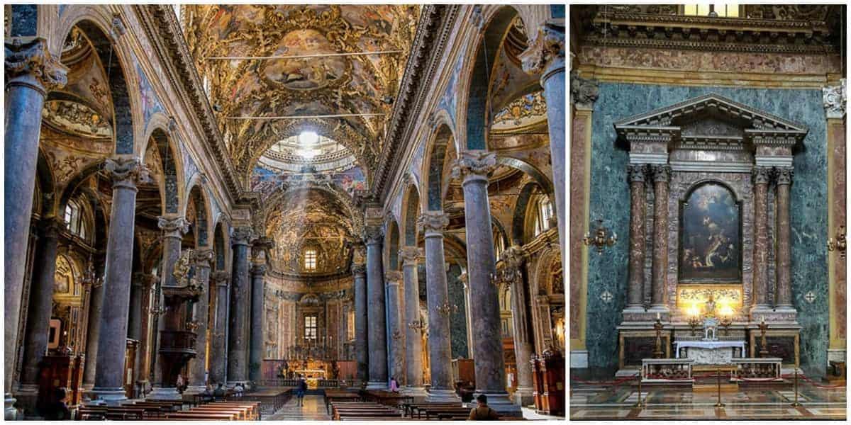 Interior view of Chiesa di San Giuseppe