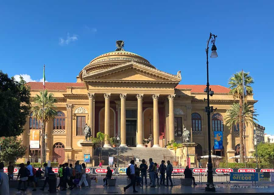 View of Teatro Massimo