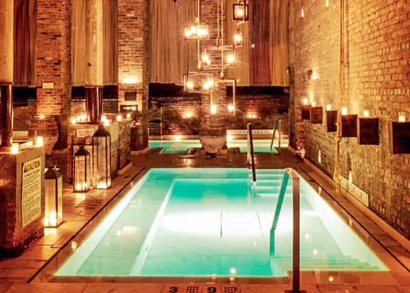 Ancient Aire Baths in New York