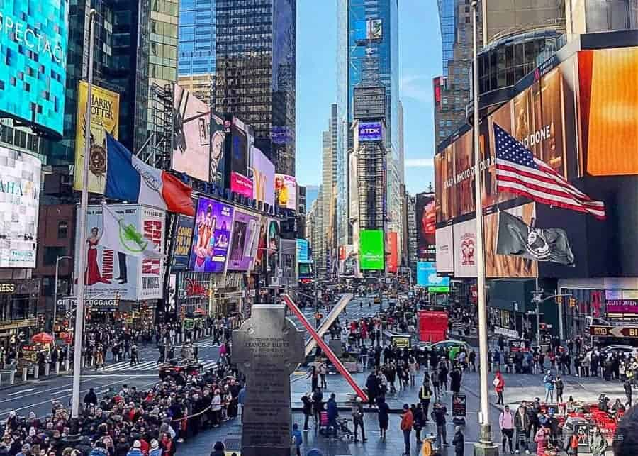 Time Square - 4 days in New York Itinerary