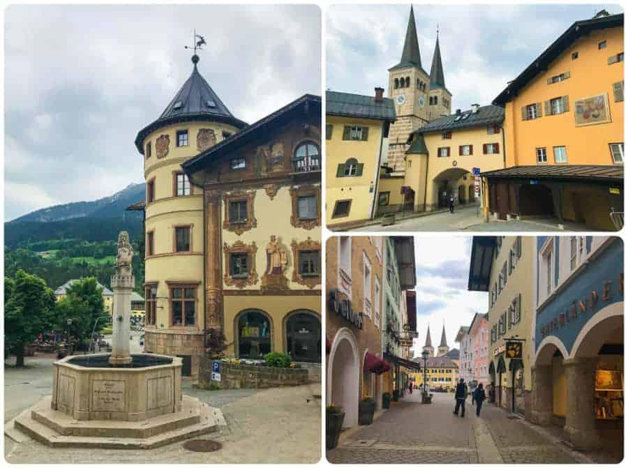 Buildings in Berchtesgarden's Old Town