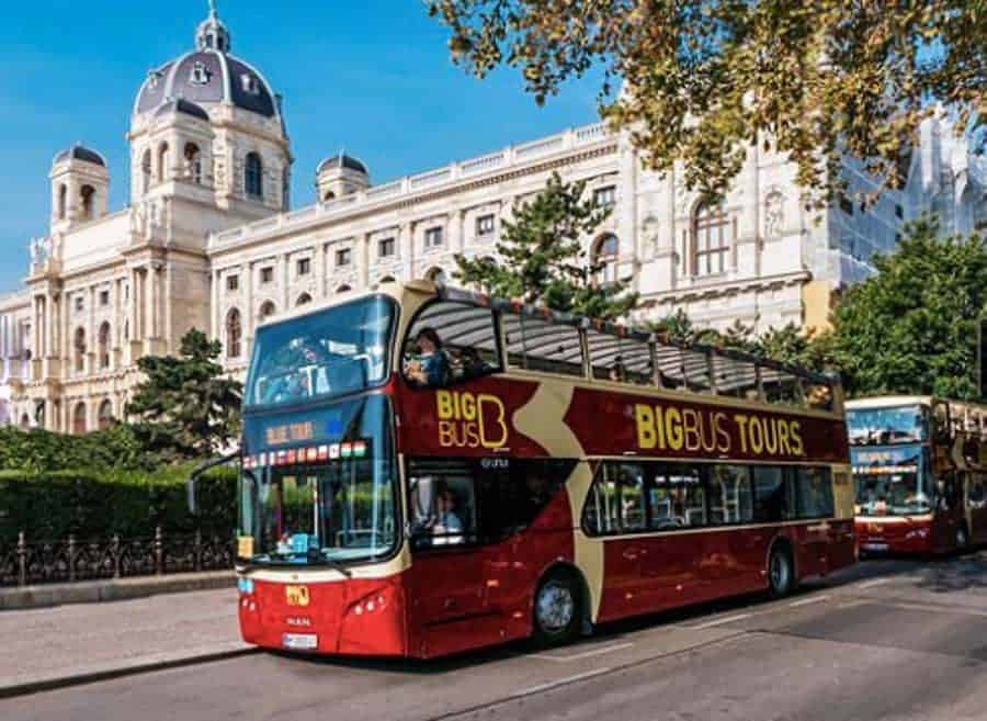View of the Big Bus in Vienna