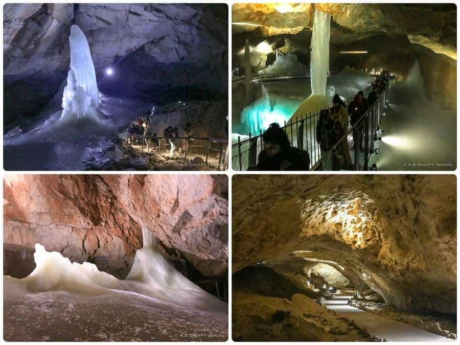 Inside the Dachstein Ice Cave