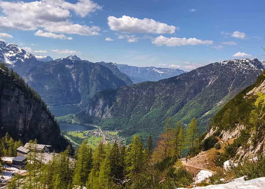 Dachstein day trip from Salzburg - view of Hallstatt Lake
