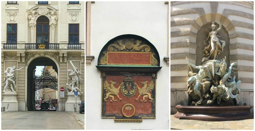 Hofburg Palace detail