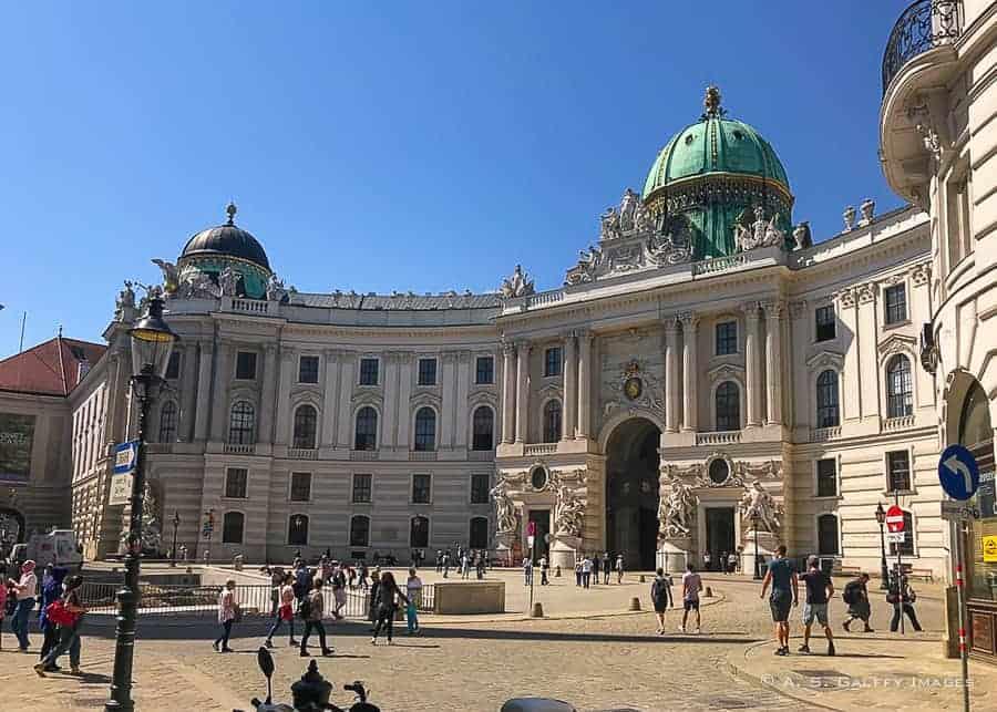 Hofburg Palace main gate