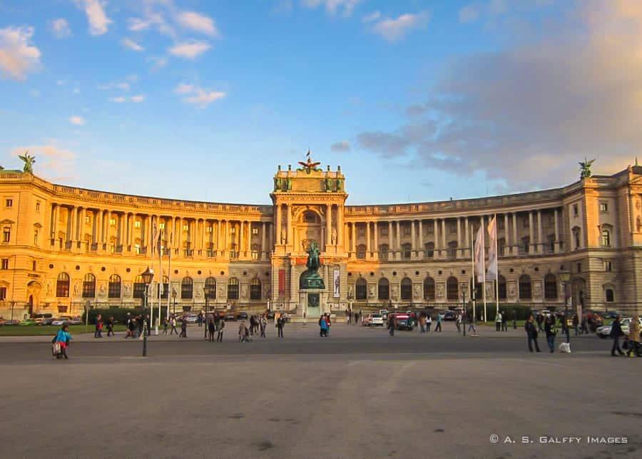 3 days in Vienna - Hofburg Palace in Vienna City Center