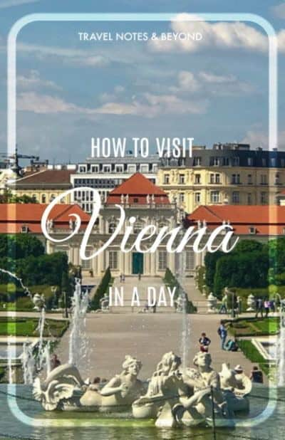 ONE Day in Vienna pin