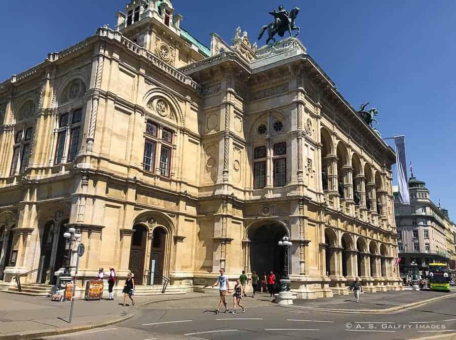 Vienna's State Opera house
