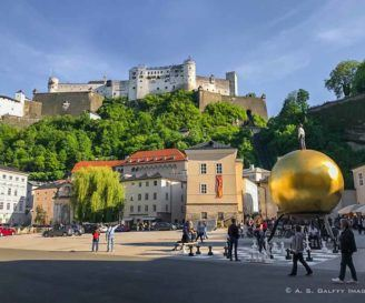 Sightseeing Salzburg's Old Town on a Self-Guided Walking Tour