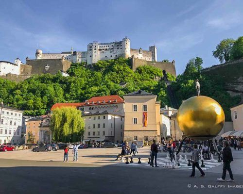 Visiting Salzburg's Old Town on a Self-Guided Walking Tour
