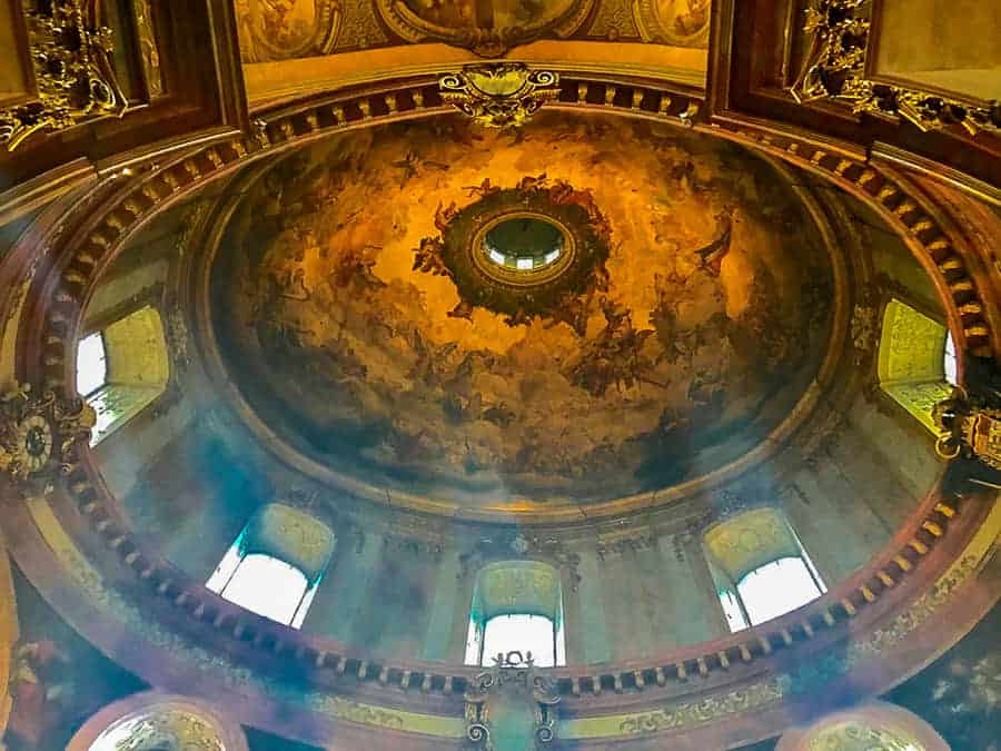 Interior view of St. Peter's Church cupola