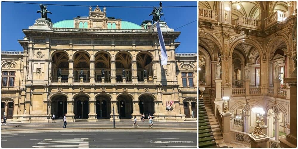 One day in Vienna - Opera House