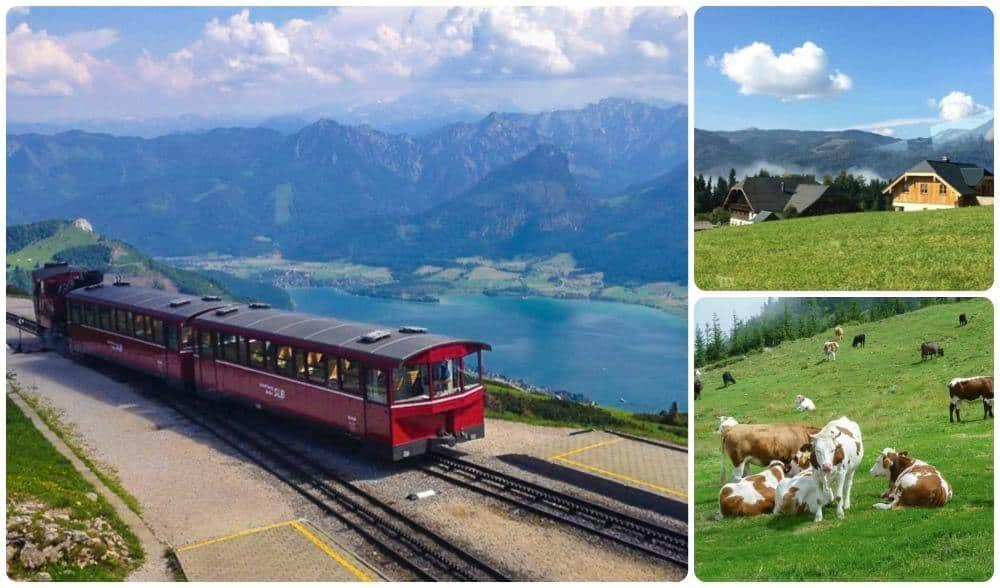 View of the Wolfgangsee & Schafberg Railroad – Day Trip from Salzburg