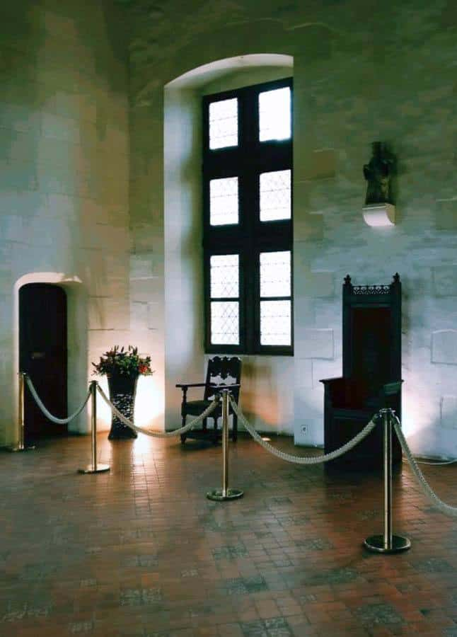 Short doors at Chateau d'Amboise