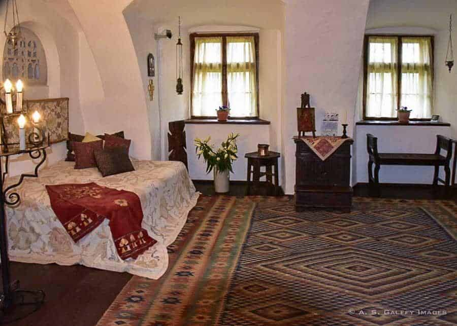 Room at Bran Castle