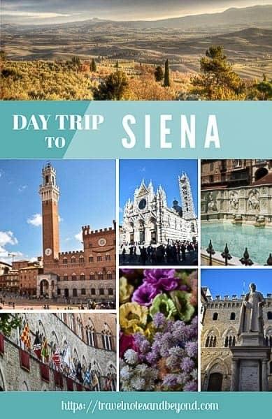 Day trip to Siena pin
