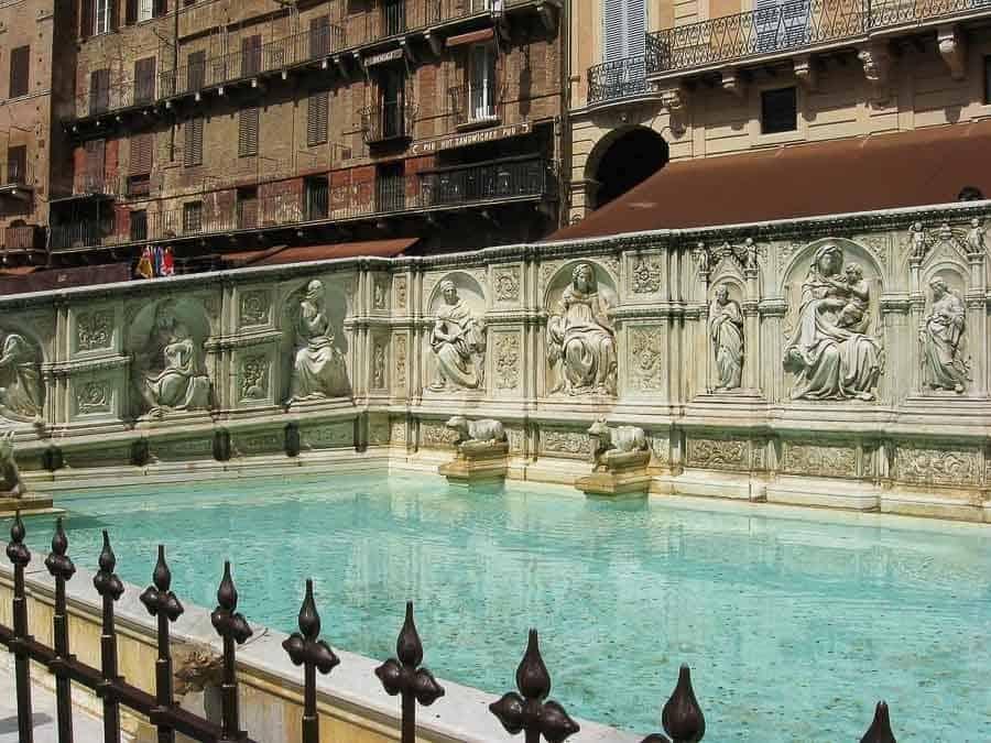 Fountain of Joy in Siena