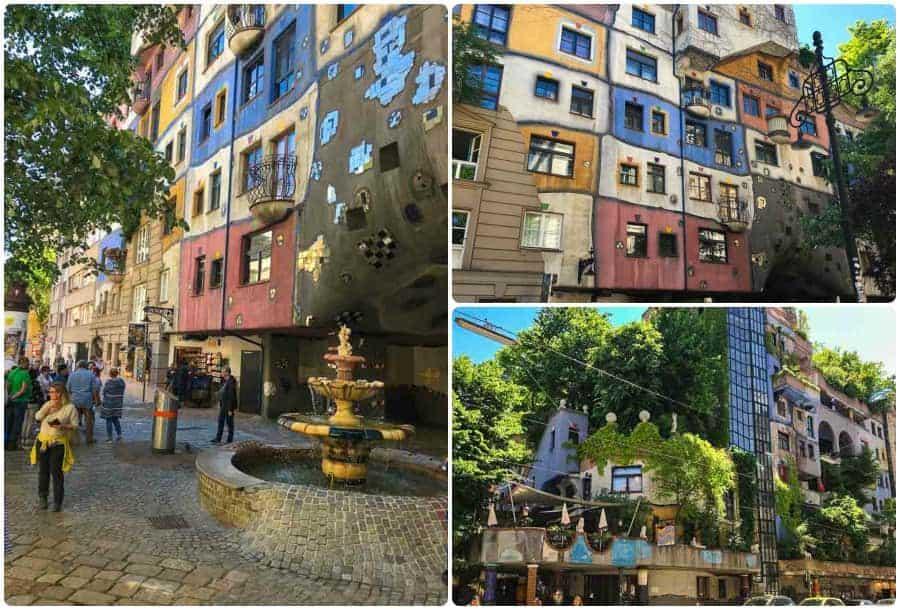 3 days in Vienna - view of Hundertwasserhaus