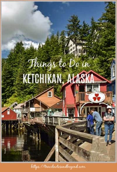Thinks to do in Ketchikan pin