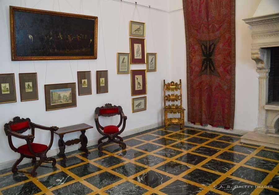 view of Mogosoaia Palace room