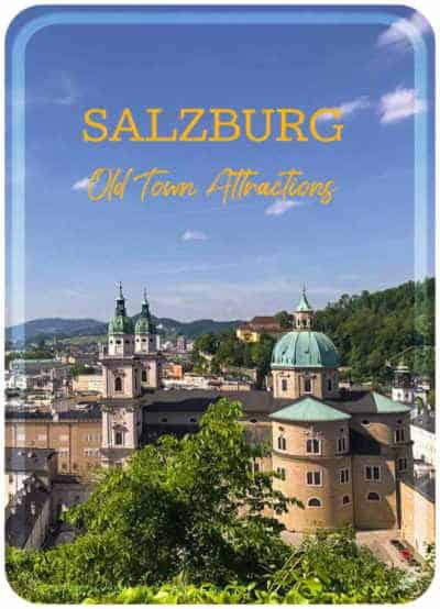 Salzburg attractions pin