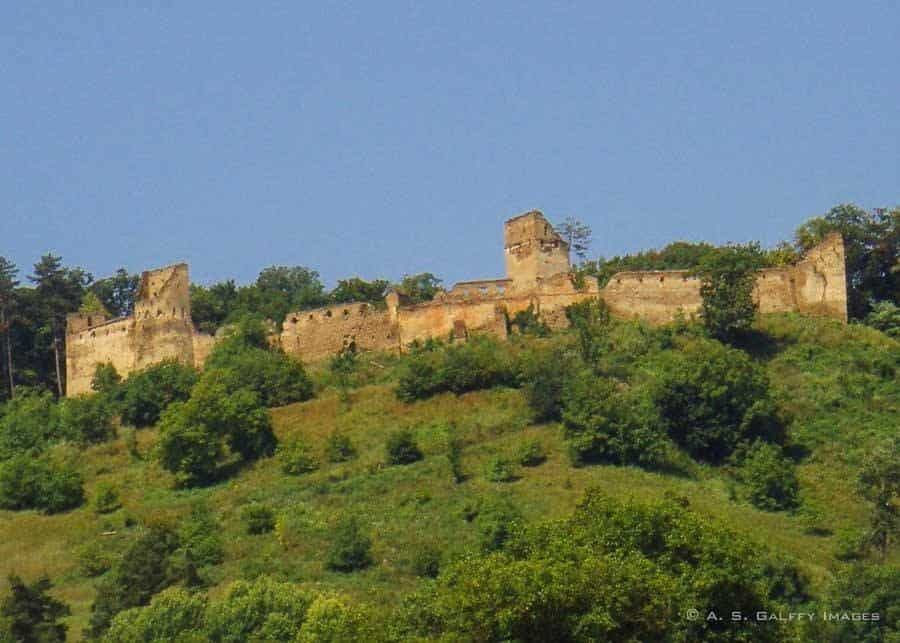 view of Saschiz Fortress