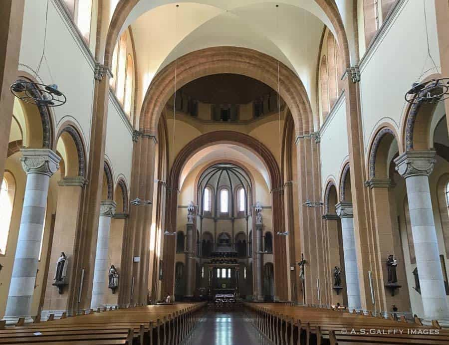 inside view of St. Francis of Assisi Church