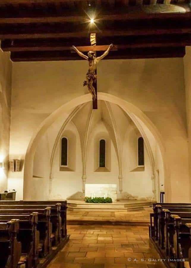 Interior of St. Rupert's Church in Vienna