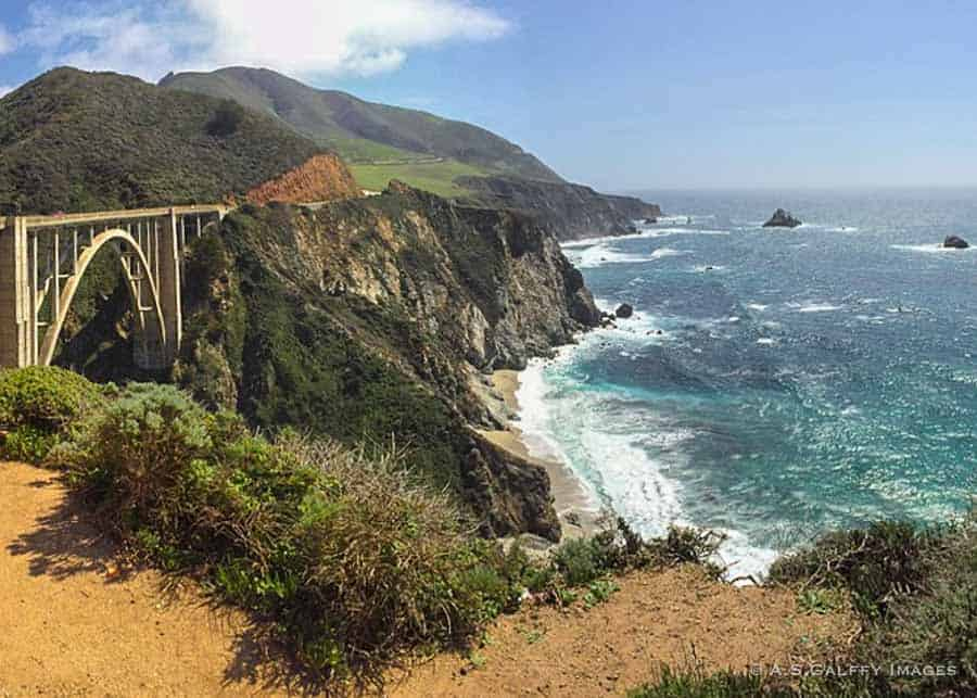 View of Pacific Coast Highway