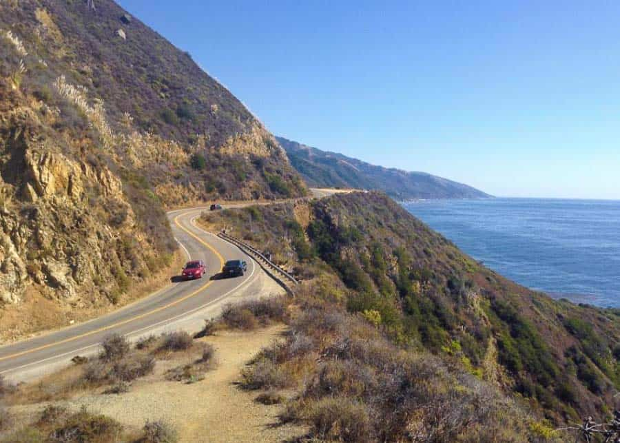 driving the PCH between LA and San Francisco