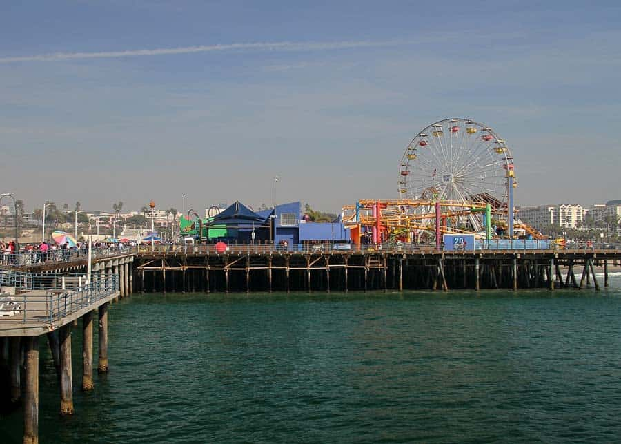 View of Santa Monica Pier