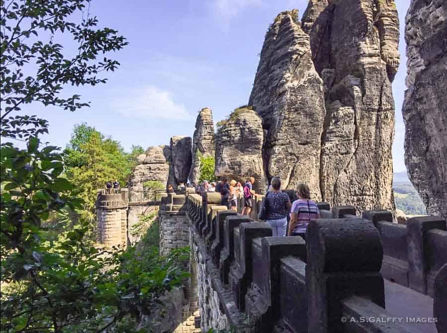 Bastei Rocks National Park