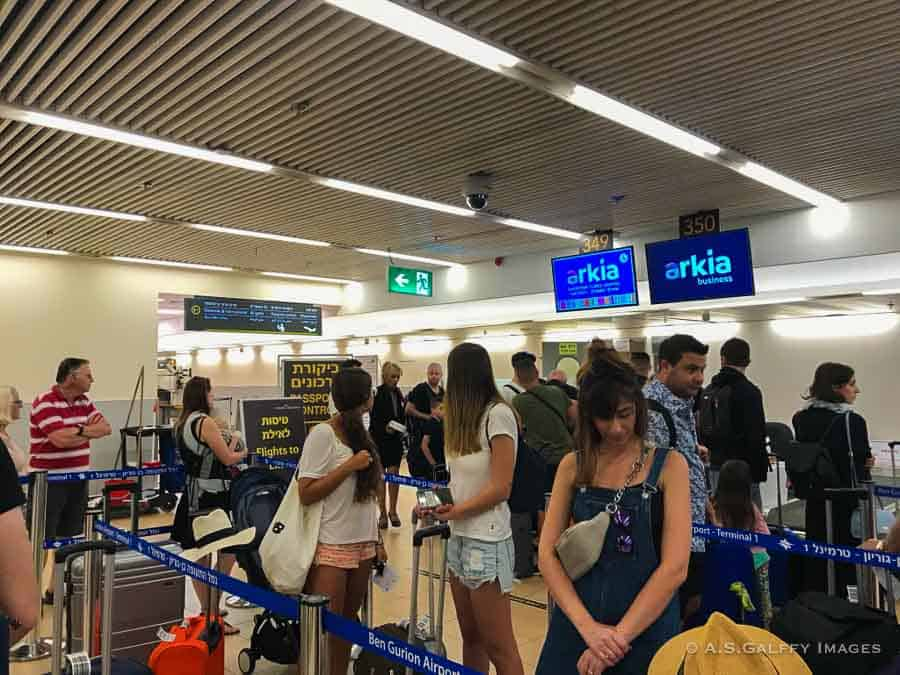 Airport - Tips for traveling to Israel