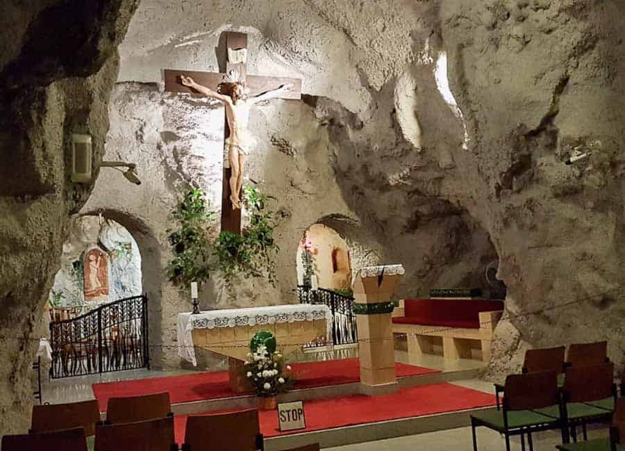 Inside the Cave Church