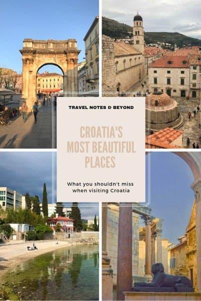 Croatia's most beautiful places