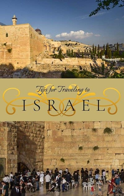 Tips for traveling to Israel