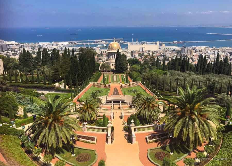 Places to visit in Israel: Baha'i Gardens