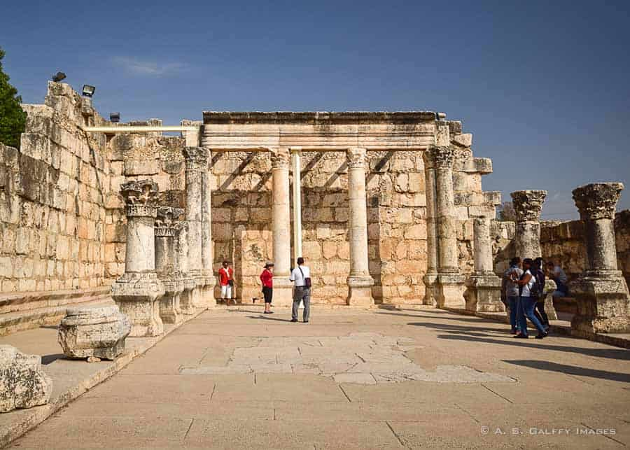 Places to see in Israel: Capernaum