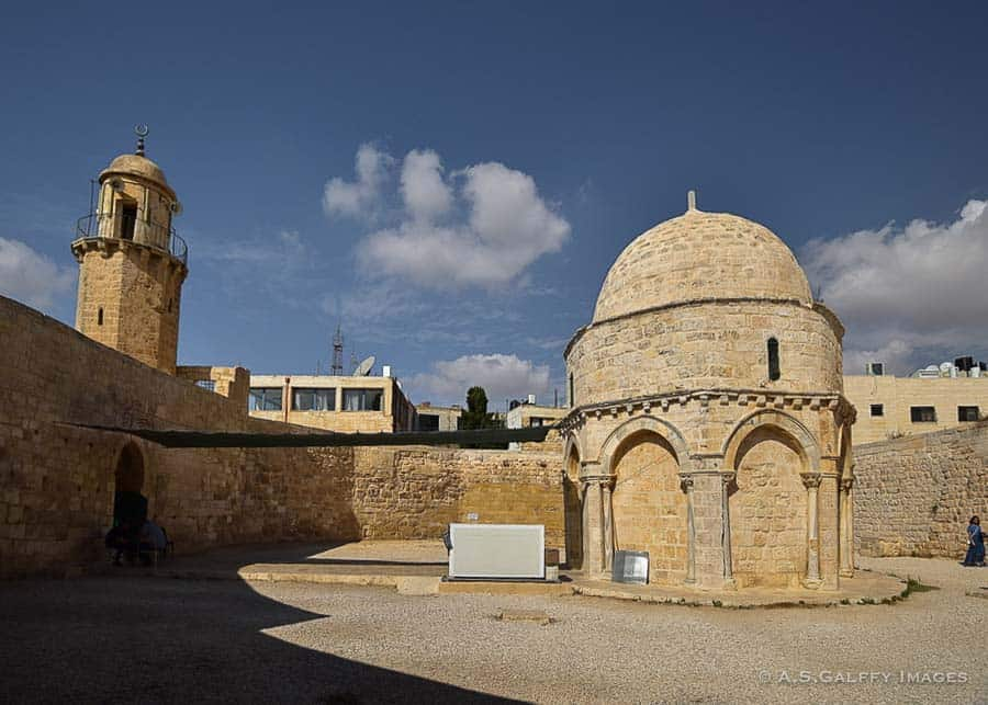 Chapel of the Ascension, places to visit in Jerusalem