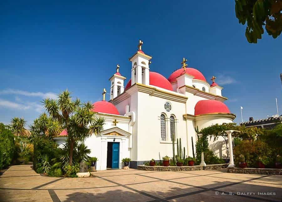 Israel itinerary: Church of the 12 Apostoles