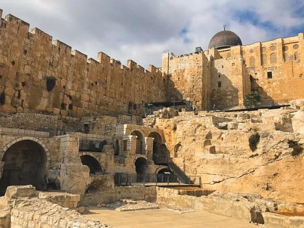 Places to visit in Jerusalem: City of David