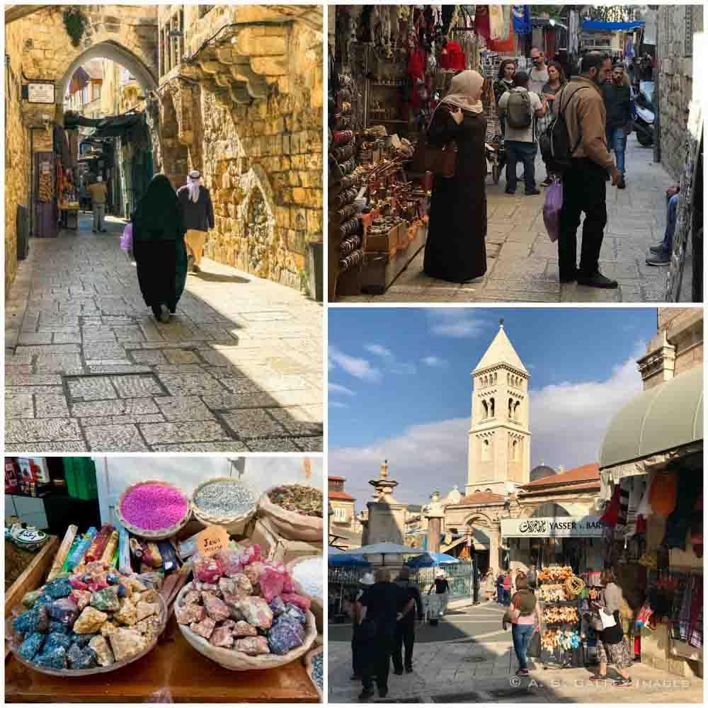 Streets in Old City Jerusalem